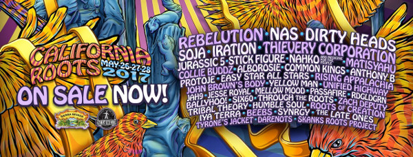 California Roots Festival dot com